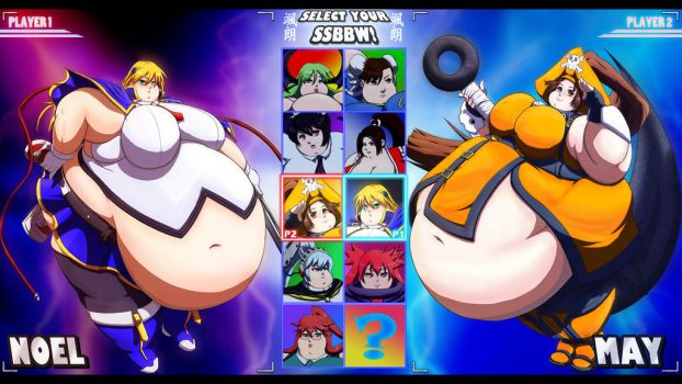 Choose your SSBBW fighter! by Satsurou