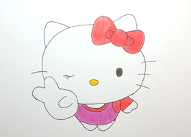 Hello Kitty by LearningToDrawCanal