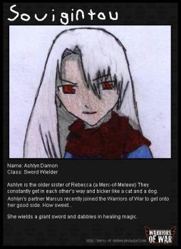 Warriors of War ID Card by Souigintou