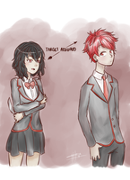 Nemesis and Haruto [REQUESTED] by Keipup