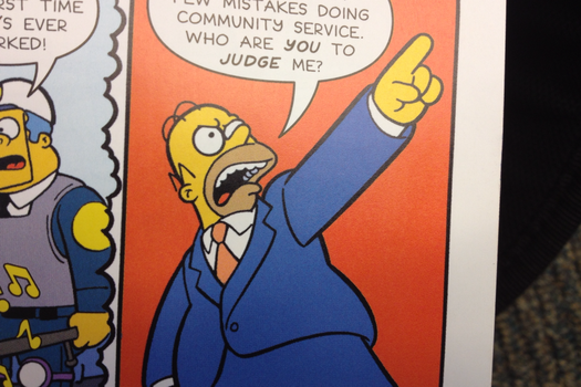 Homer Objection by OmegaRider99
