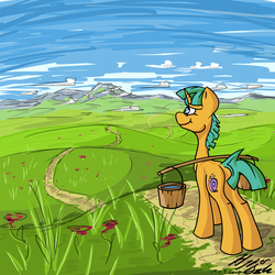 COMMISSION: Carryin' my Water by HyperDashPony