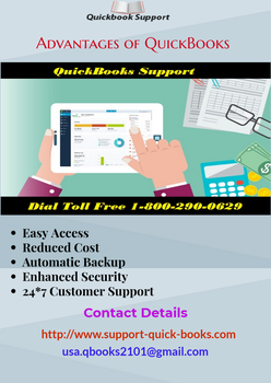 Advantages Of QuickBooks Support by QuickBooksSupport30