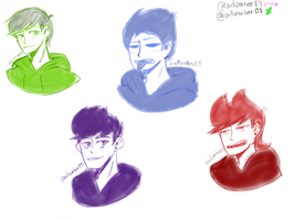 Eddsworld Sketchies by Ailizerbee08