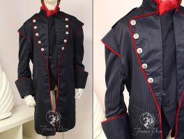 Vampire Military Jacket by Firefly-Path