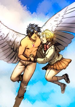 Escaflowne by Anorha-Nono