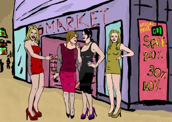 Sissy Shopping by J-amesT