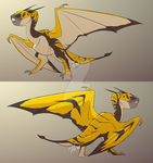 Golden Smacklejaw Concept '19 by RoFlo-Felorez
