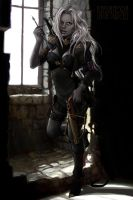 Drow Hunter. by UnseelieAllure