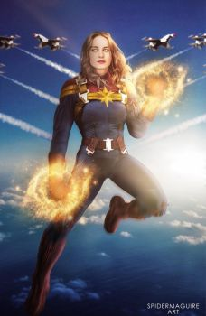 Captain Marvel MCU  by Spider-maguire