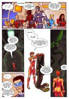 Thunder Force Alpha: Issue 1 page 10 by Kostmeyer