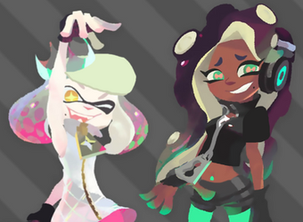 Fixed Pearl and Marina by cynicalsix