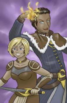 Aeducan and Akiva by Adre-es
