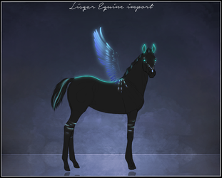 Lisqar Equine import - custom by Minthiy