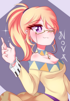 [Commission] Nova by LittleCloudie