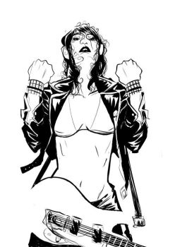 do you wanna touch me...inks by Robbi462