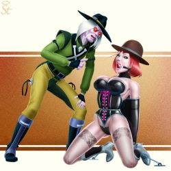 Judge JB in the clutches of Tex Hex by Bound-to-please