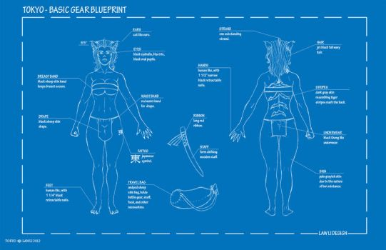 Tokyo basic blueprint by LawLiEnt