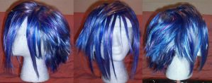 Commission: Zexion wig by rogueymu
