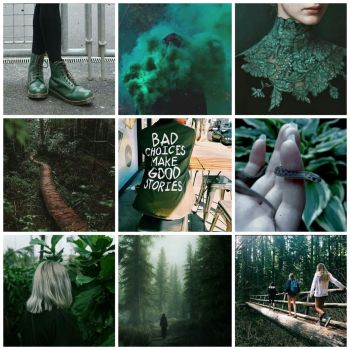 slytherin moodboard by amber-kat