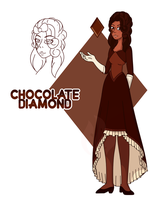 Chocolate Diamond by Fyreglyphs