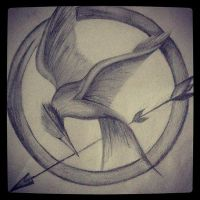 Mockingjay by ScatterHeartz