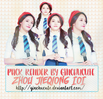 SHARE RENDER Pinky I.O.I by ginchucute