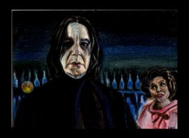 Snape  Gets Hassled by SarahSilva
