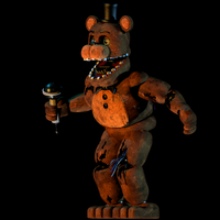 Withered Freddy V.5 | Finished by EndyArts