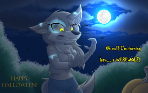 Night of the She-Wolf by W0lfmare