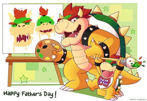 Happy Father's Day 2018 by Domestic-hedgehog
