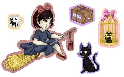 Kiki's Delivery Service by ChaoticallyWicked