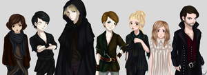 Once Upon a Time: Neverland Cast by Blacklisted23