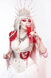 ~ Bloody bride ~ by Alice-Corsets