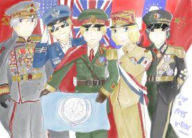 Hetalia UN Allies by camisicado