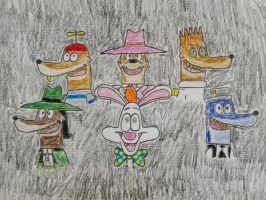 Roger Rabbit - Friendship Through The Ages by s233220