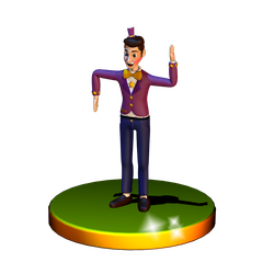 Dawko By GamesProductions c4d port by Popi01234