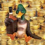Scrooge McDuck and His Gold by nomisdice