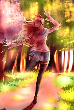 Chitoge - [AT] by Tia-Tchou