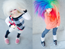 monochromes and rainbows by Cesia
