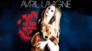 Avril Here's to never growing up wallpaper 2 by AxzlRose