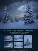 Winter Wonderland Premade with Original Stock by kuschelirmel-stock