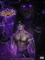 THE ROAD TO WRESTLEMANIA 34 by shadykt26