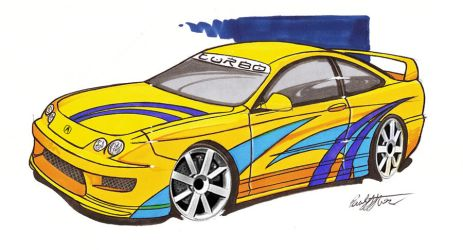 Acura Integra by paulodesign