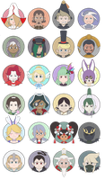 The Duchy of Eternia Stickers by XEmoMidnaX