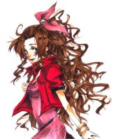 FF7-Aerith by Inami