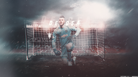 David De Gea Wallpaper by OmarBedewyGFX