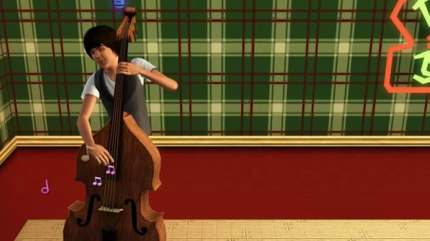 Paul on bass by BeagleAgent