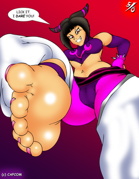 Juri Dares You to Lick It by 50percentgrey