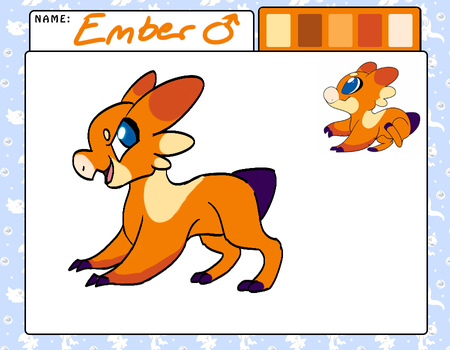 (Edited) Ember ~ Wyngling by Wintercat96